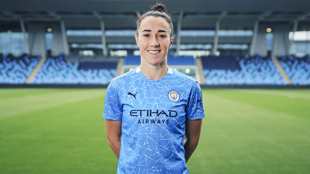 """There's nowhere I'd rather be right now than with Manchester City"" Lucy Bronze is back in the FA WSL"