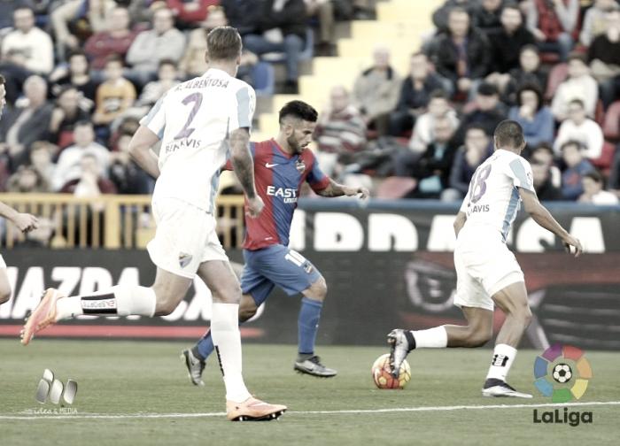 El Levante visita La Rosaleda para enfrentarse a un Málaga necesitado de puntos