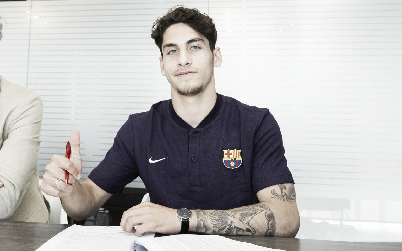 Ludovit Reis, nuevo jugador del FC Barcelona