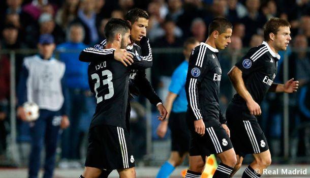 Ludogorets - Real Madrid: puntuaciones del Real Madrid, segunda jornada de la Champions League