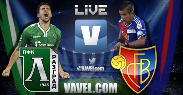 Live Champions League : Ludogorets vs Basel en direct