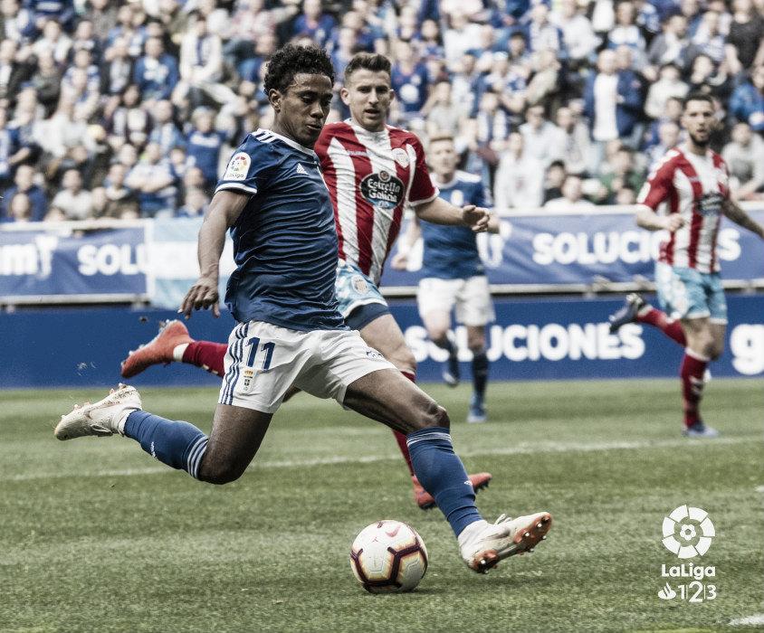 Real Oviedo - CD Lugo: Puntuaciones del Real Oviedo en la jornada 28 de La Liga 1|2|3