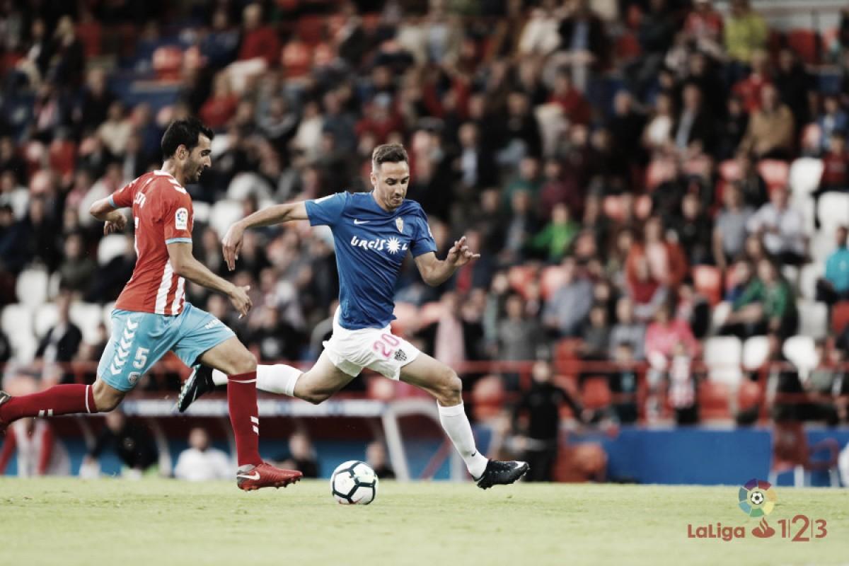 El Lugo cierra otra temporada sin pasar apuros frente al Almería