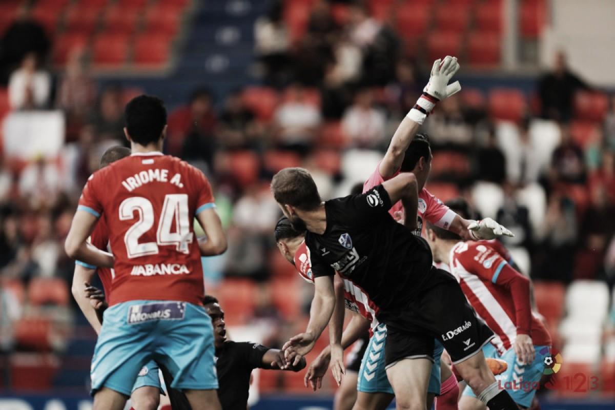 CD Lugo - SD Huesca: puntuaciones del Lugo, 40ª jornada de Segunda División