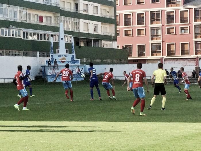 La Deportiva pone fin a su pretemporada con derrota ante el CD Lugo
