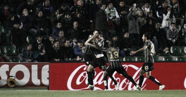 Elche - Málaga: puntuaciones del Málaga, 16ª jornada de la Liga BBVA