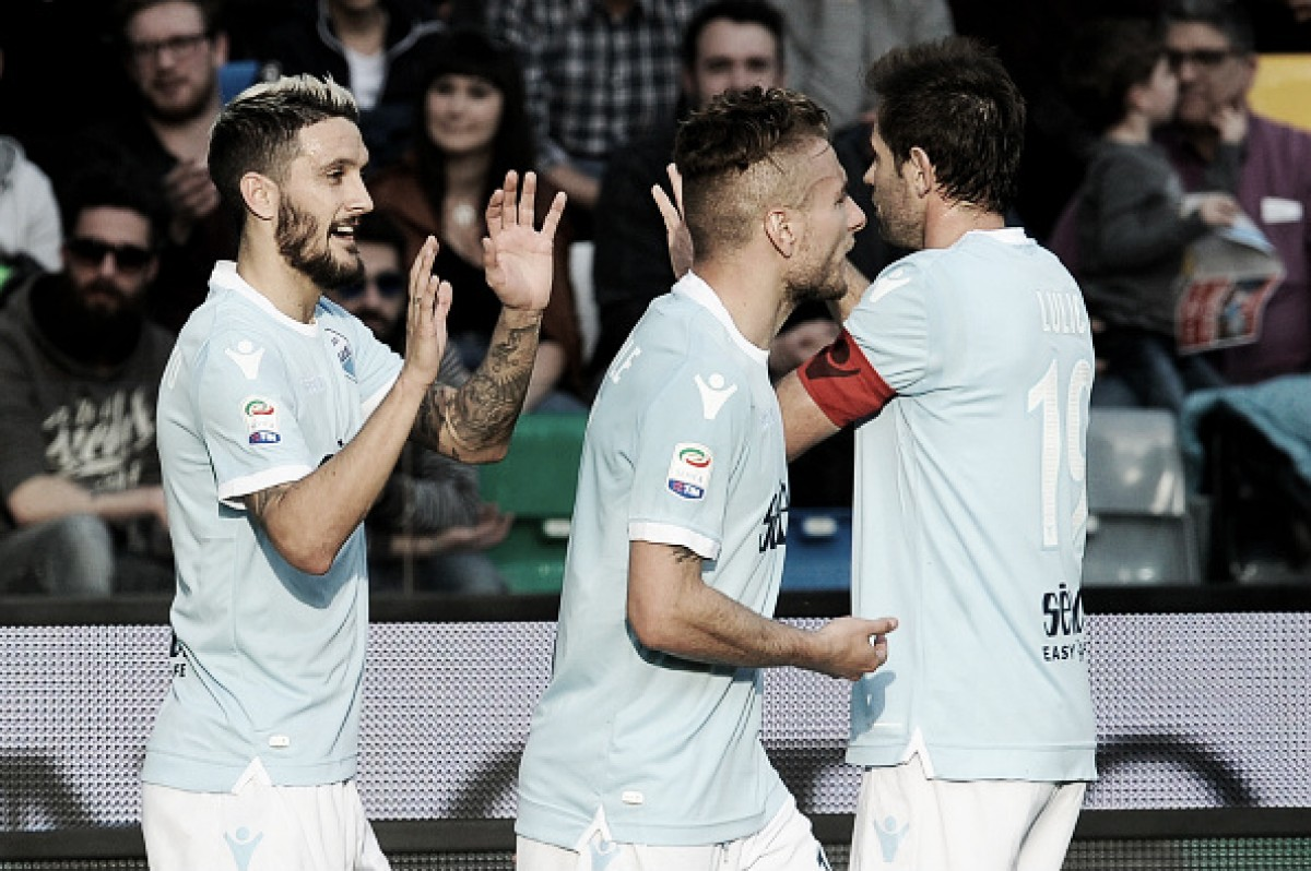 De virada, Lazio vence Udinese fora de casa e sobe ao terceiro lugar na Serie A