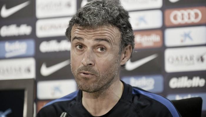 "Real Madrid-Barcellona, Luis Enrique: ""Per noi è una finale"""