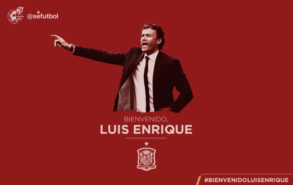 Ex-Barcelona, Luis Enrique é confirmado como novo treinador da Espanha
