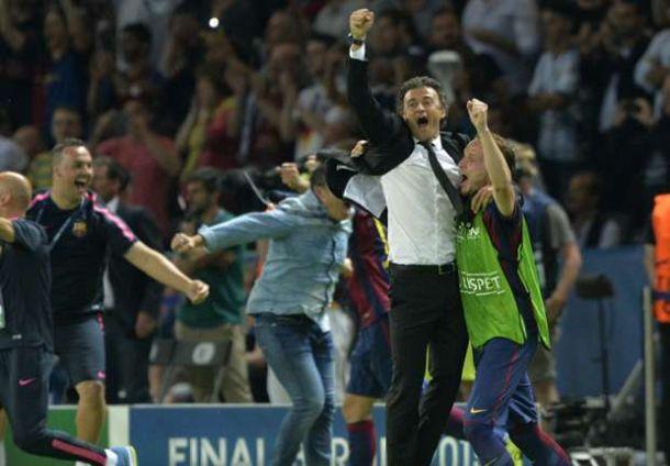 """Luis Enrique celebra il suo Barcellona: """"Ringrazio tutti per la fiducia"""""""