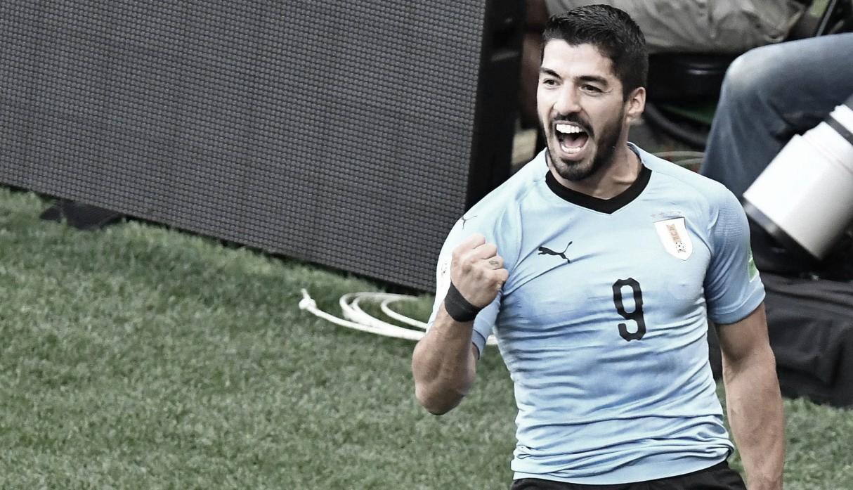 """Suárez ya está en Uruguay: """"Me siento espectacular"""""""