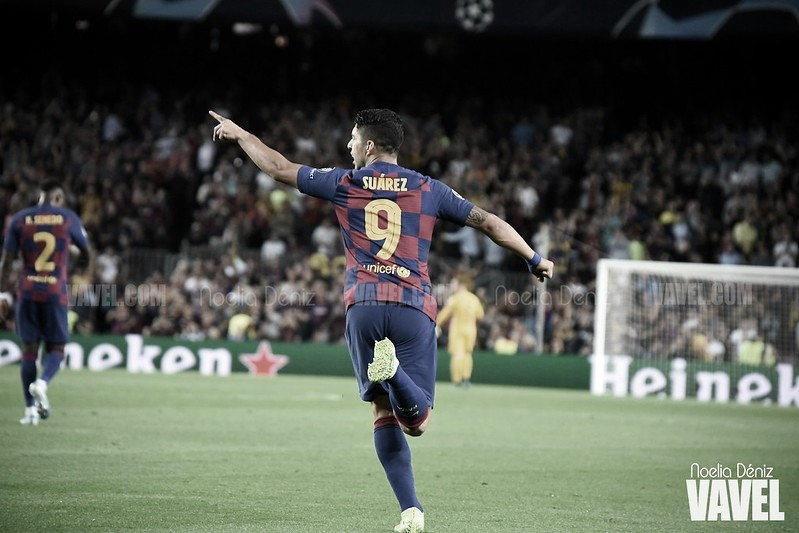 """Luis Suárez: """"Nuestro objetivo es ganar los próximos tres partidos"""""""