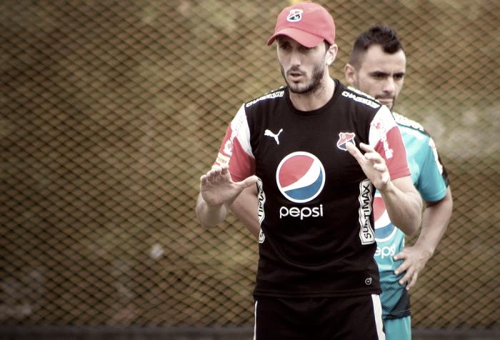 """Andrés Mosquera: """"Todos sabemos a qué le apuesta Santa Fe y eso es lo más complejo"""""""
