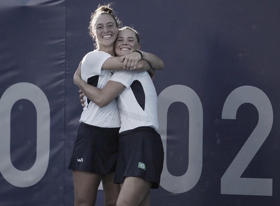 Luisa Stefani y Laura Pigossi se cuelgan el bronce en dobles