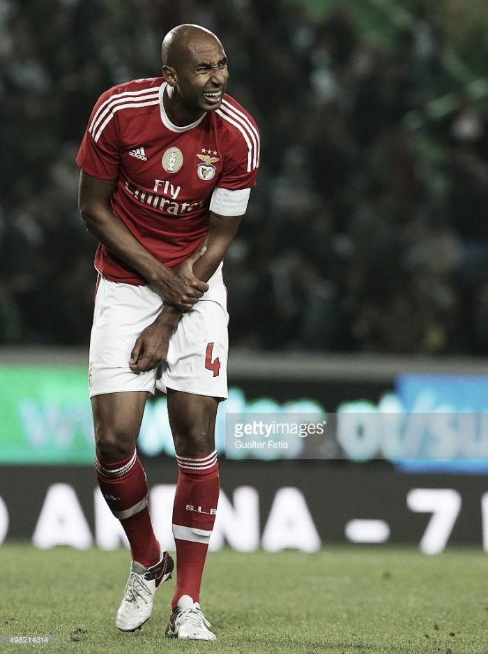 Benfica: Luisão será novamente operado