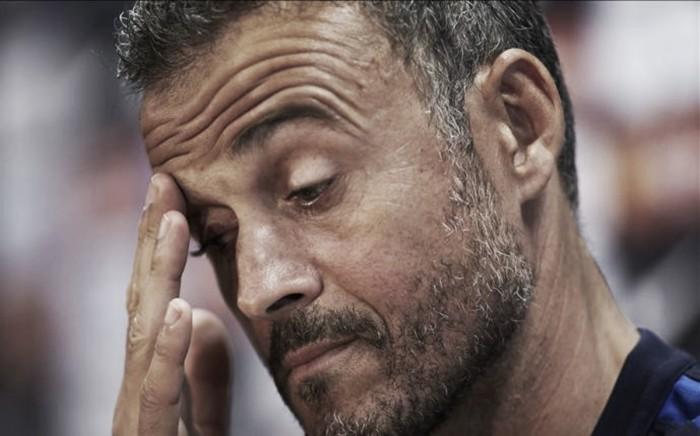 "Luis Enrique lamenta derrota para Alavés: ""Estivemos muito frágeis na defesa"""