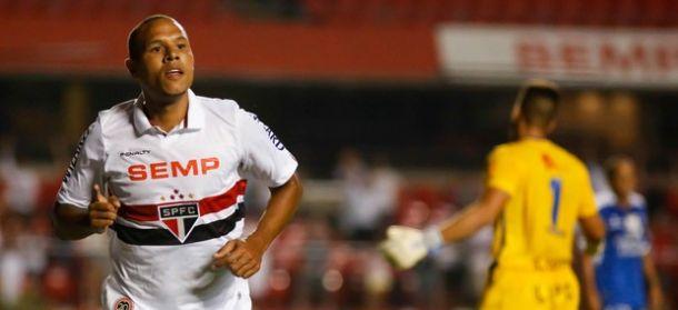Em noite de Luis Fabiano e Osvaldo, São Paulo vence o Rio Claro por 6 a 3