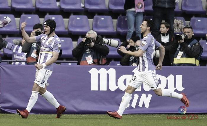El Real Valladolid sufre para ganar