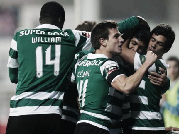 Sporting isola-se na liderança da Liga