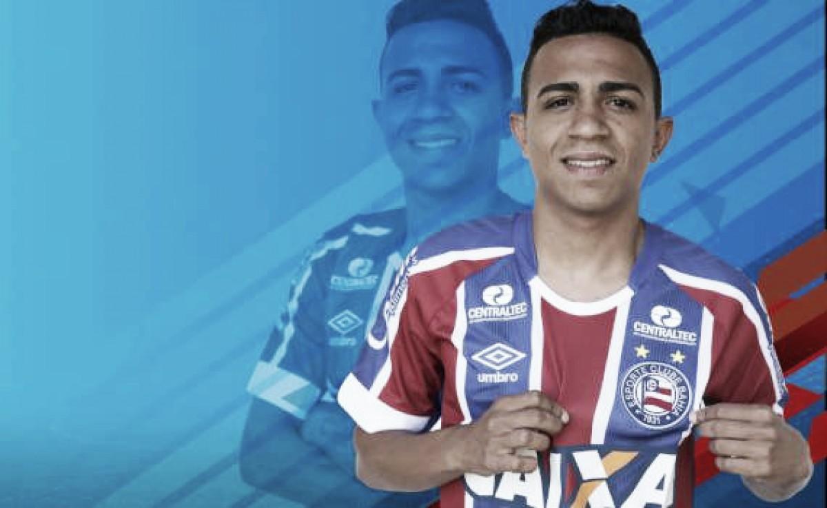 Bahia anuncia volante Luiz Henrique, ex-Náutico, por até o fim do ano