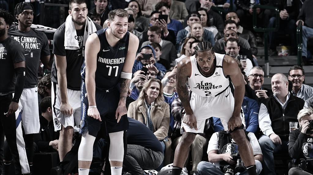 Previa Los Angeles Clippers - Dallas Mavericks: presente y futuro se ven las caras