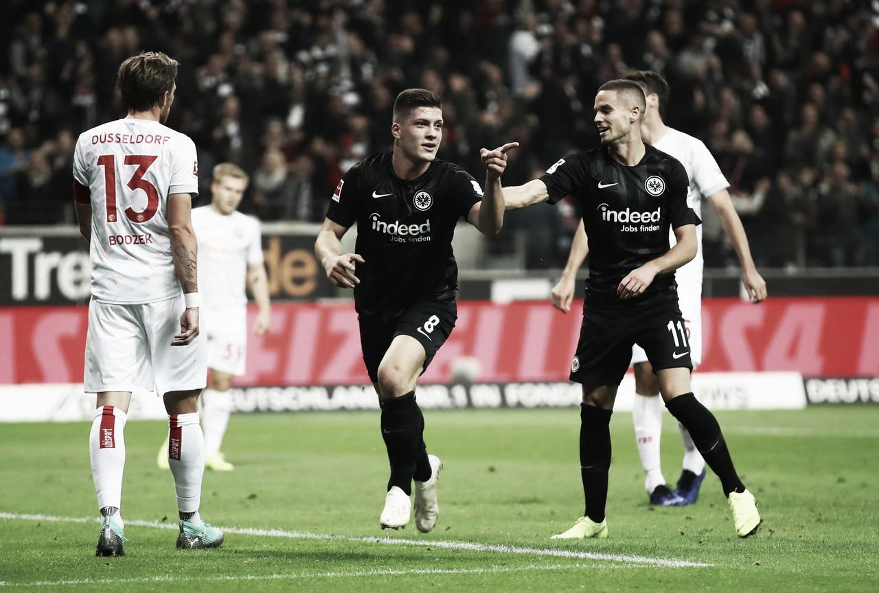Luka Jovic hace historia en el Frankfurt
