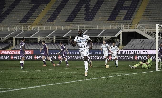Lukaku marca na prorrogação, Internazionale elimina Fiorentina e avança na Copa da Itália