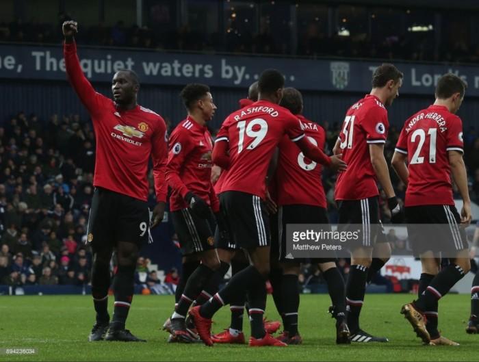 West Bromwich Albion 1-2 Manchester United: United secure win despite late scare