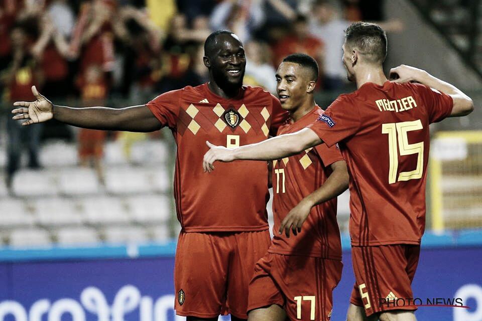Lukaku faz dois e garante vitória da Bélgica sobre a Suíça na Liga das Nações