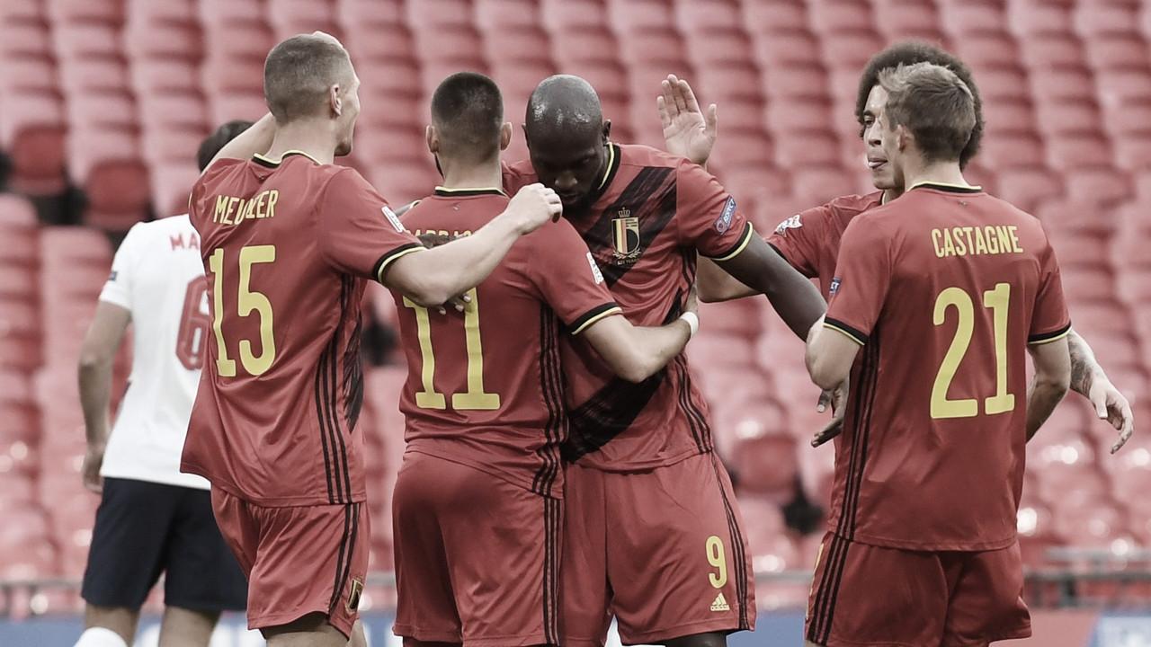Gols e melhores momentos de Dinamarca 1 x 2 Bélgica pela Eurocopa