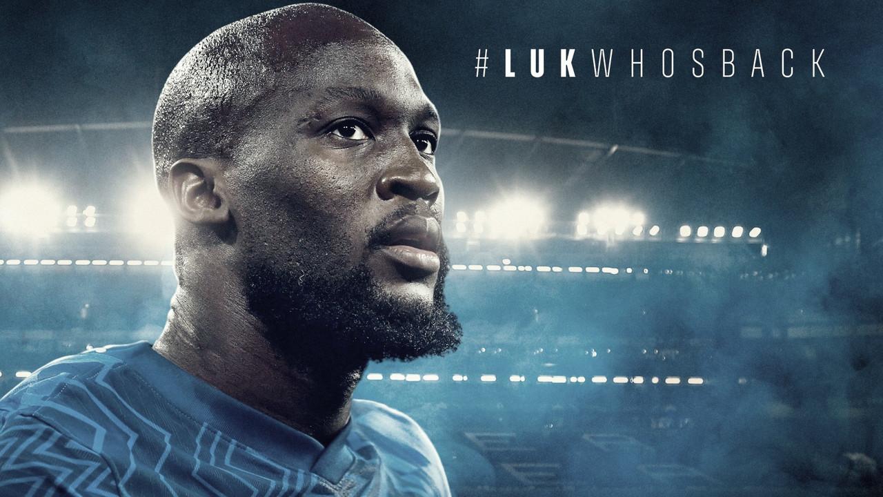 De volta a Londres: Chelsea anuncia retorno do atacante Lukaku