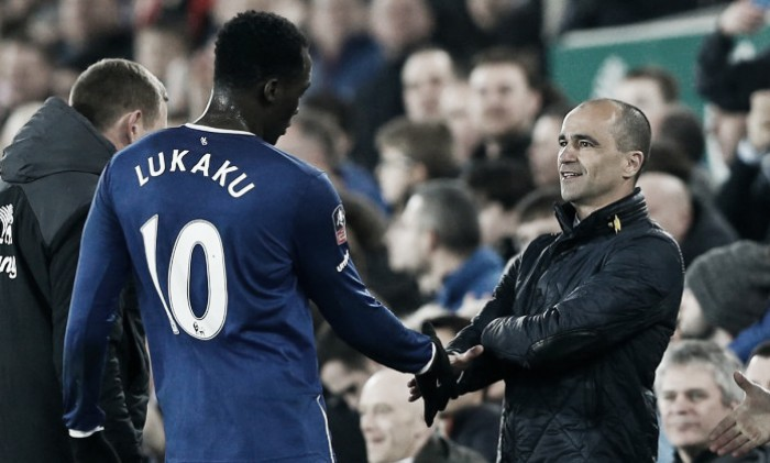 Roberto Martinez addresses Romelu Lukaku's Everton future ahead of Manchester United clash