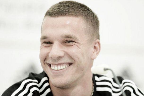 Podolski reforça o Galatasaray