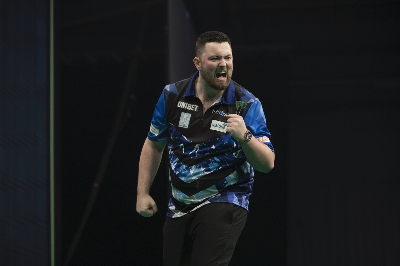 Premier League Darts Night Five: Luke Humphries writes Premier League history in hometown