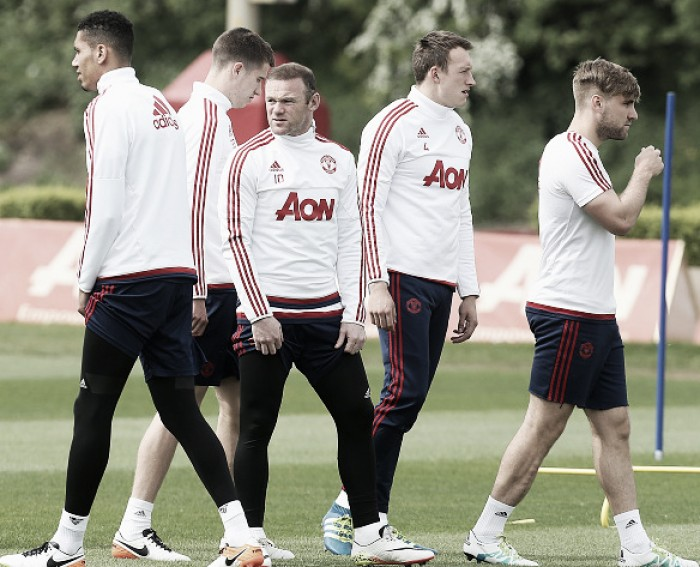 Luke Shaw returns to first team training