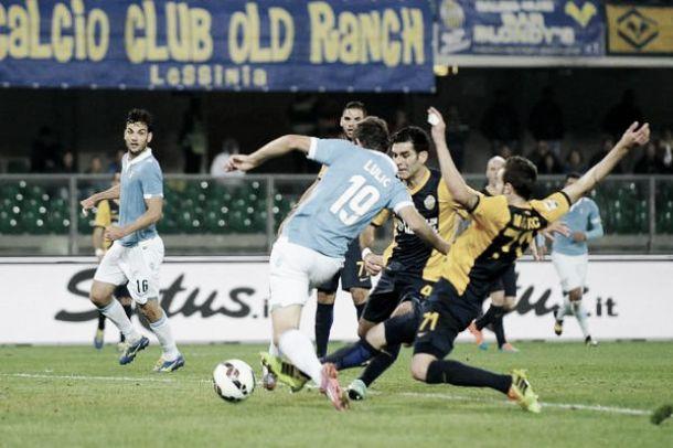 Il Verona soffre ma si porta a casa il pareggio: 1-1 con la Lazio