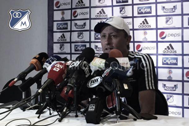 """Ricardo Lunari: """"Millonarios esta en condiciones para pelear el título"""""""