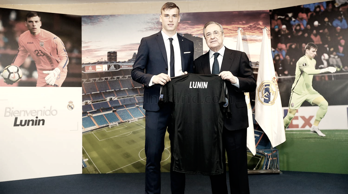 """Andriy Lunin: """"Gracias por permitirme fichar por el mejor club del mundo"""""""