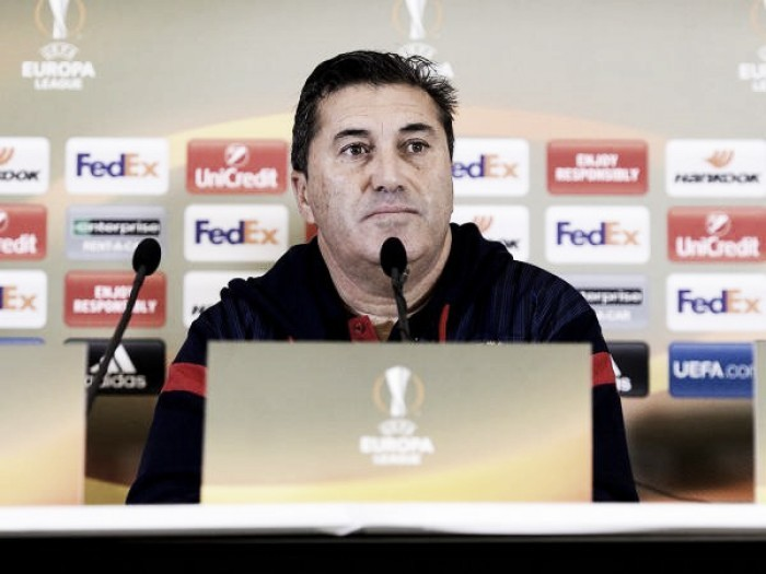 """José Peseiro: """"Hemos venido aquí con la intención de ganar y resolver el pase a la siguiente etapa"""""""