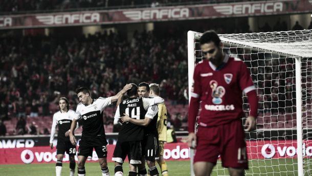 Líder Benfica recebe lanterna vermelha Gil Vicente