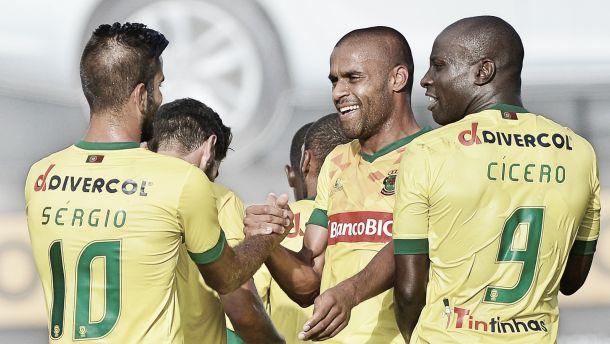 A melhor série de vitórias é do Paços do retornado Fonseca