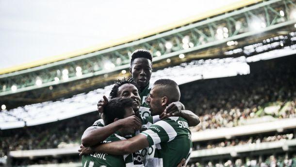 Sporting 4-1 SC Braga: Leão goleia no ensaio para o Jamor