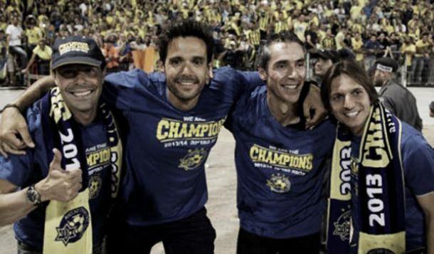Paulo Sousa sagra-se campeão com o Maccabi Telavive