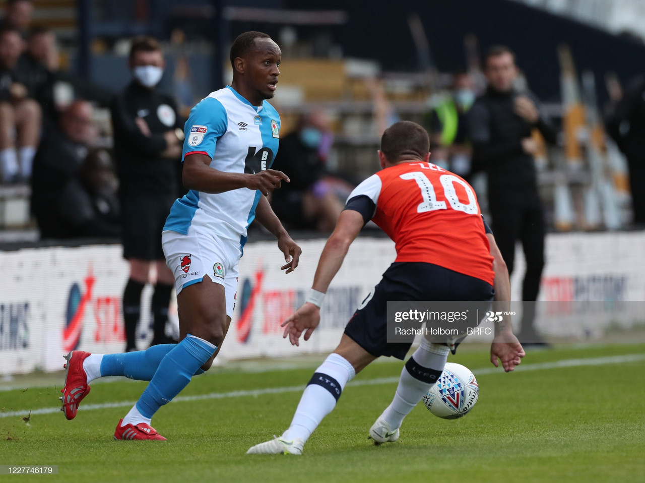 Luton Town 1-1 Blackburn Rovers: Hatters hold Blackburn to an action-packed draw at Kenilworth Road