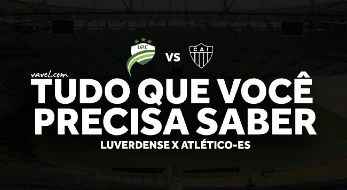 Semifinal Copa Verde 2018: tudo que você precisa saber sobre Luverdense x Atlético-ES