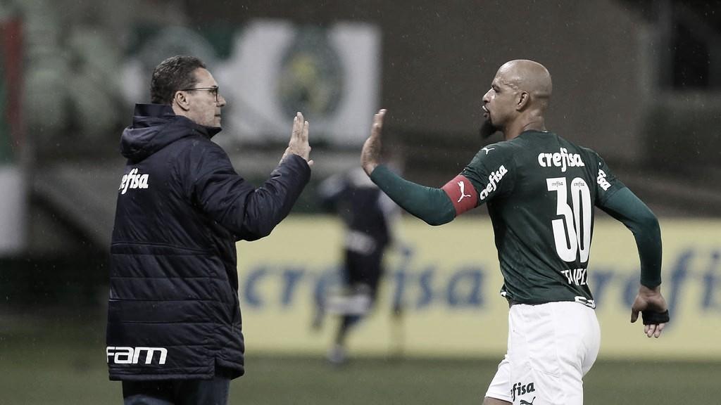 Luxemburgo explica lesão de Rony e 'estratégia certa' para Palmeiras avançar à semifinal