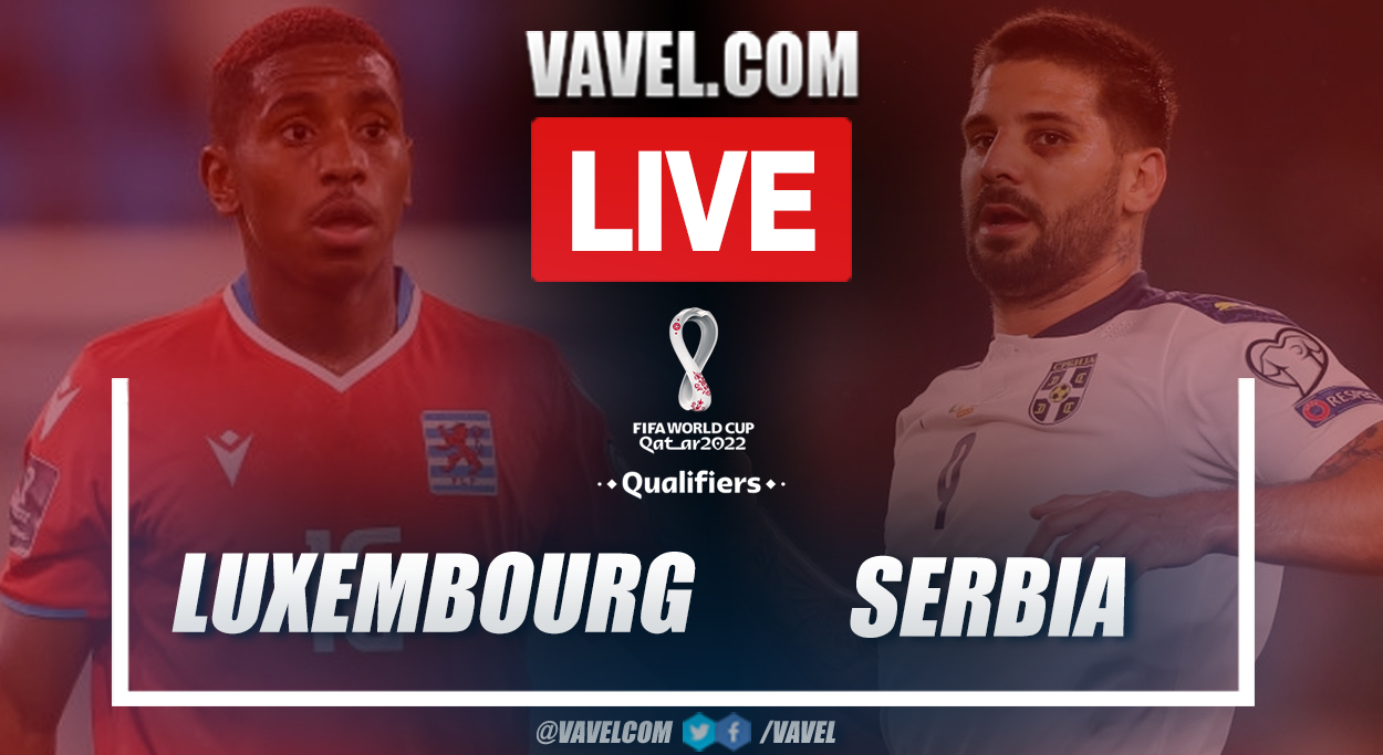 Highlights and goal: Luxembourg 0-1 Serbia in European Qualifiers