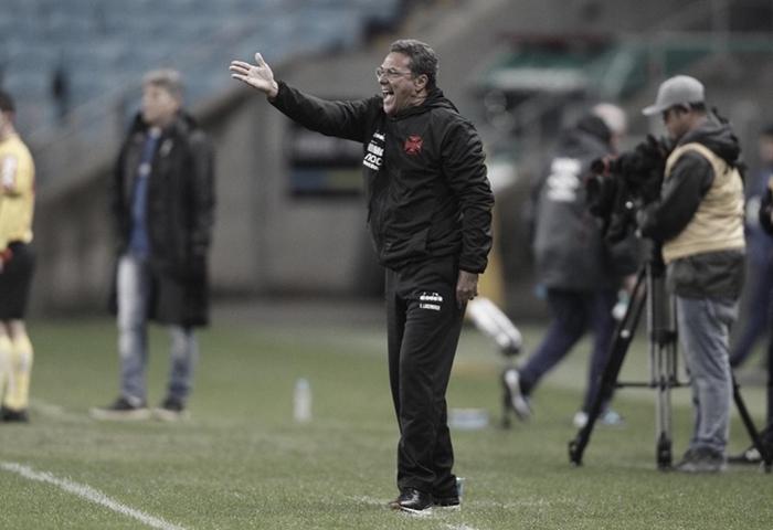 """Luxemburgo ressalta boa atuação do seu time: """"Seria normal o Vasco ganhar"""""""