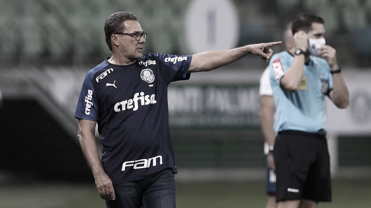 """Luxemburgo analisa empate do Palmeiras contra time misto do Flamengo: """"Jogo difícil"""""""