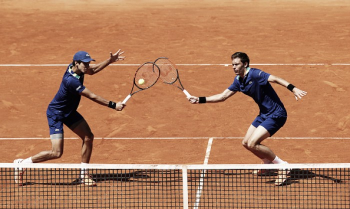 ATP Rome: Herbert/Mahut survive tough test to advance